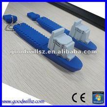 2012 Hard Silicon Ship USB Flash Drive/Stick