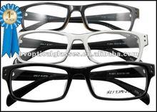 2012 Black unisex full rim acetate glasses frames