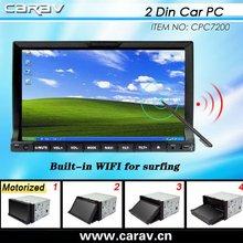 2012 HOT 7'' 2 din car touch screen computer