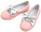 OVERSEAS HOT SALE leather children shoes for lovely girls BH-CS074