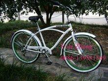 """26 """" homens e senhora novo estilo de bicicleta cruzador da praia, Bicicleta passagem CE"""