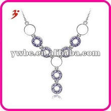 fashion beautiful purple crystal valentine's day gift(A101409
