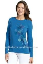 Womens sun protective bamboo t shirts UPF 50+ bamboo shirts
