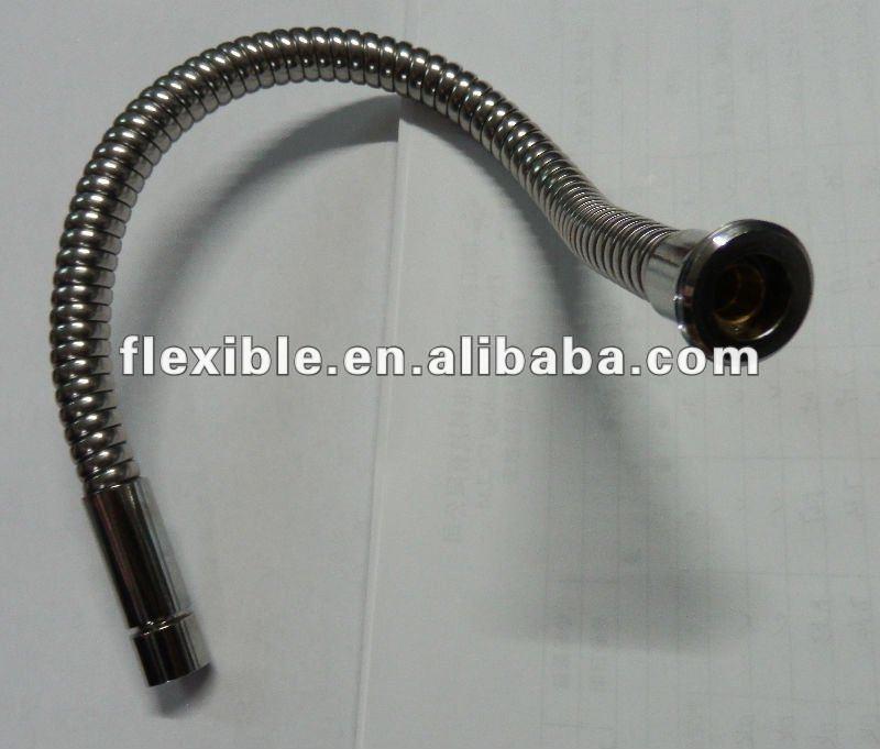 Cuello de cisne tubo para interlock mangueras de fontanería, agua fregadero de la manguera