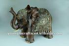 Polyresin Elephant with Base 101061-12