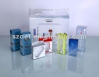 clear plastic Travel Kits packaging box