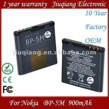 High capacity bp 5m battery bp-5m for nokia mobile phone 6110 Navigator