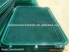 high quality low price chain link fence gate (factory)