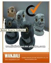 simpatico animale scultura di granito