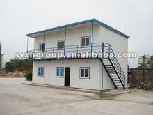 prefab steel structure house/villa