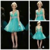 2012 Ball Gown Top Quality Light Blue Cheap Cocktail Dress