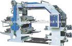 Auto-matitic Label Flexographic Printing Machiner(4 color)