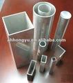 Tubo de aluminio de rectang barra del tubo del ángulo barra plana