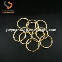 Cut Oxidation Aluminum Split Rings