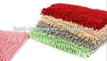 Microfiber Chenille Mat Polyester Chenille Shaggy Mat Polyester Bath Mat Polyester Shag Rugs Microfiber Chenille Bath Rug