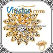 vnistar fashion gold ring R024G7-1