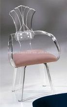 Clear luxurious Acrylic chair,Coffee chair