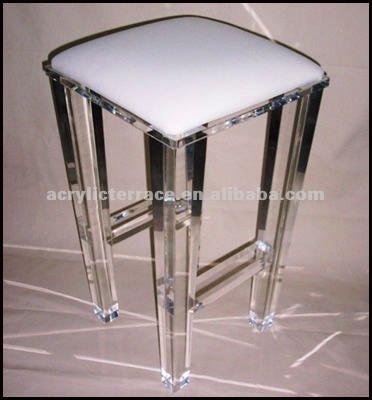 Acrylic Lucite Stool Plexiglass Vanity Stool Buy Acrylic