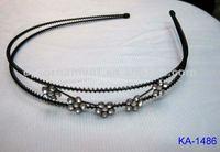 fashion kids metal headband with crystal