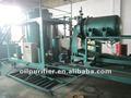Se utiliza el aceite del motor sistema de regeneración de/decoloración del aceite de la máquina de reciclaje/de refinería de petróleo