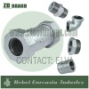 ZD Brand Malleable Iron Threaded Pipe Fittings Rubber Johnson Coupling 258