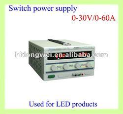 0-30V/0-60Aswitching power supply (C.C and C.V operation)