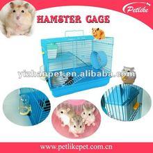 Metal hamster cage