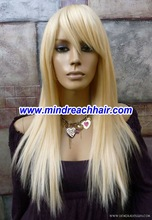 "20"" 22# silk straight wave virgin Chinese hair wigs,accept escrow"