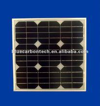 25W pv transparent mono solar panel price per watt