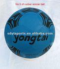 football and soccer ball