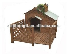 Carbonized Wooden Pet Houses