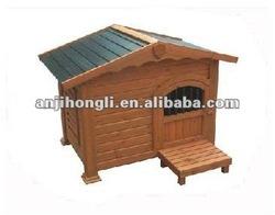 Carbonized Wooden Pet House