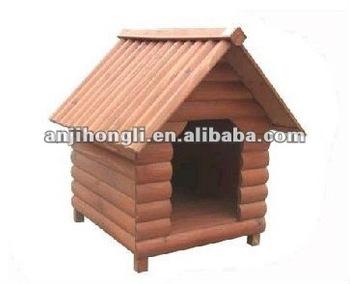 Carbonized Light Color Wooden Pet House