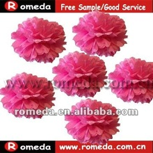2012 the best decoration wedding hangingtissue paper pom