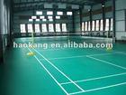 badminton court sports flooring/sport court/indoor PVC floor