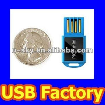 Mini Pico USB Drive Available in 1GB/2GB/4GB/8GB/16GB/32GB/64GB/128GB, Super Talent Pico Mini USB