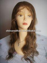 100% real natural human hair 100% hand made Lace wigs