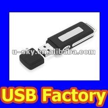 Voice Recorder USB Flash Driver, Available 1GB/2GB/4GB/8GB/16GB/32GB, USB Recorder 4G / 8G /16G /32G Voice Recorder Flash Drive