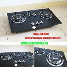 High Quality 3 Burner Built in Gas Stove (RD-BI041)