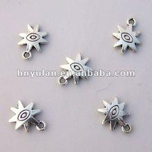 Metal Charms Eye Pendant Jewelry Fitting