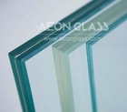 4.38mm-30mm EXTRA CLEAR LAMINATED GLASS with CE & ISO certificate