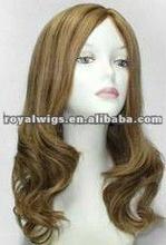 100% Kanekalon Hair front lace wig