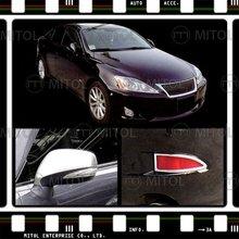 Cromo de la cubierta para lexus is250, accesorios de automóviles
