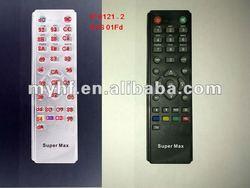 SUPER MAX satellite remote controls