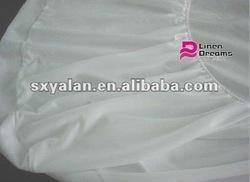 hospital/hotel bed thin mattress cover/protector/mattress pad