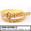 Women fashion belt PU belt Fashion belt for ladies