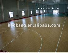 Professional anti-slip/Wood pattern/basketball court surface