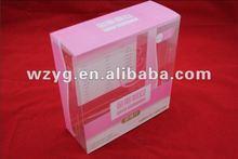 pp gift box/plastic packing box