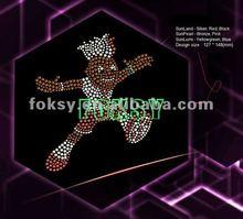 Euro cup sportman hotfix rhinestone design