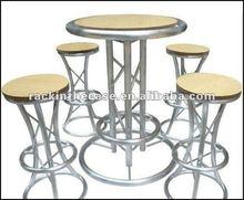 Circular_Leg Aluminum Truss Bar Table